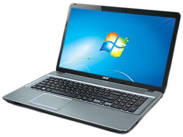 Acer Aspire E1-731-4699 Notebook Intel Pentium 2020M (2.40GHz) 4GB Memory 500GB HDD Intel HD Graphics 17.3