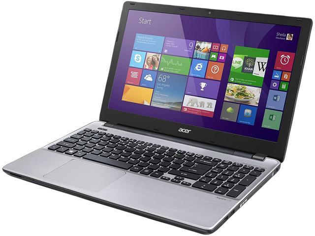 Acer Aspire V3-572G-54L9 Notebook Intel Core i5 4210U (1.70GHz) 8GB DDR3L Memory 1TB HDD NVIDIA GeForce GT 840M 15.6