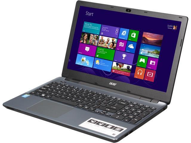 Acer Aspire E5-571-37SY Notebook Intel Core i3 4030U (1.90GHz) 4GB DDR3L Memory 500GB HDD Intel HD Graphics 4400 15.6