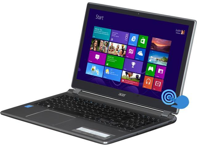 Acer Aspire V5 V5-572P-4824 Notebook Intel Pentium 2117U (1.80GHz) 6GB Memory 750GB HDD Intel HD Graphics 15.6