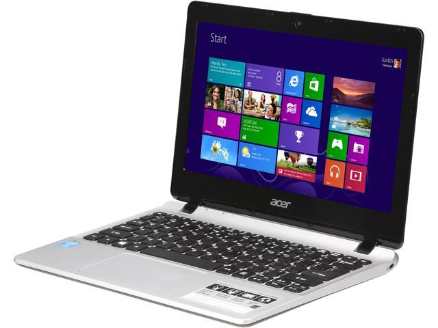Acer E3-111-P8DW Notebook Intel Pentium N3530 (2.16GHz) 4GB Memory 500GB HDD Intel HD Graphics 11.6