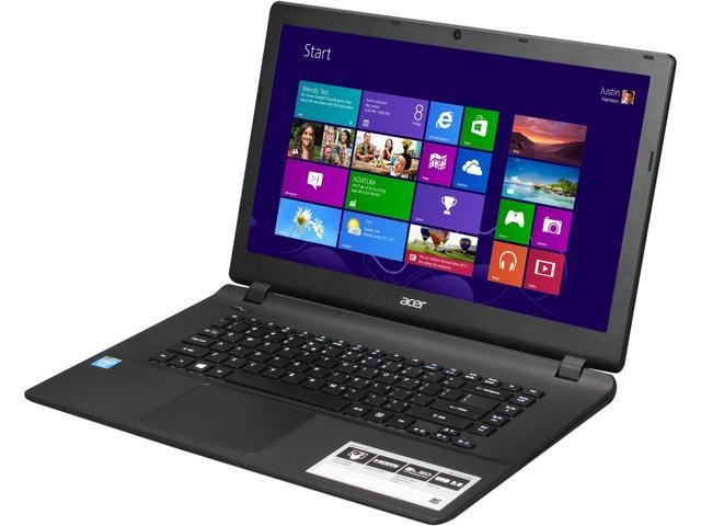 Acer Aspire ES1-511-C59V Notebook Intel Celeron N2830 (2.16GHz) 4GB Memory 500GB HDD Intel HD Graphics 15.6