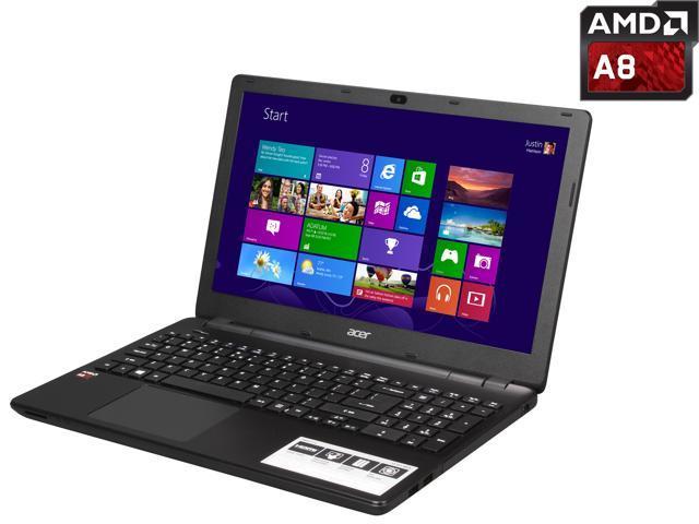 Acer E5-551-89TN Notebook AMD A-Series A8-7100 (1.80GHz) 6GB Memory 1TB HDD AMD Radeon R5 Series 15.6
