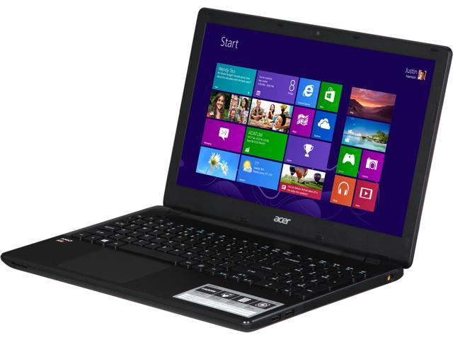 Acer E5-551-T5SV Notebook AMD A-Series A10-7300 (1.90GHz) 4GB Memory 500GB HDD AMD Radeon R6 Series 15.6