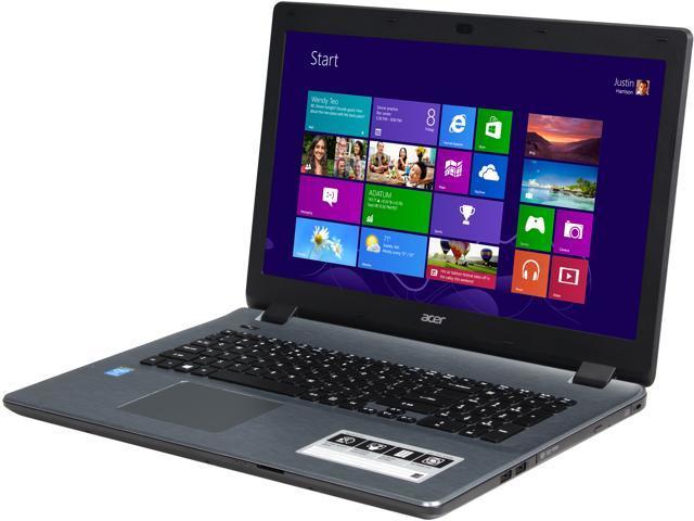 Acer E5-731-P30W Notebook Intel Pentium 3556U (1.70GHz) 4GB Memory 500GB HDD Intel HD Graphics 17.3