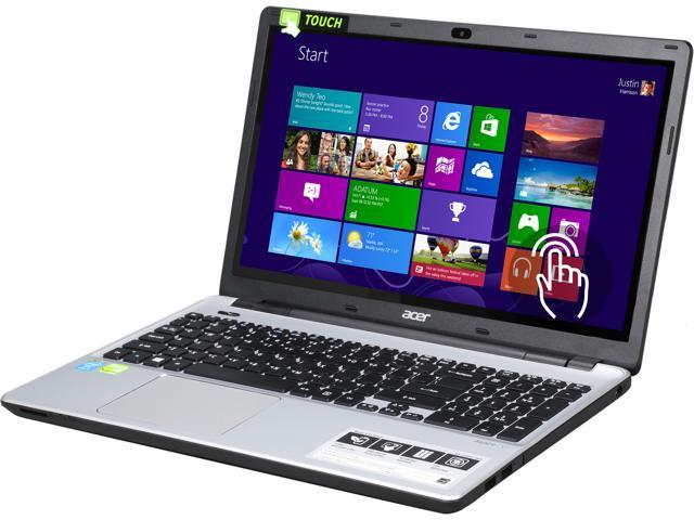 Acer V3-572PG-767J Notebook Intel Core i7 4510U (2.00GHz) 8GB Memory 1TB HDD NVIDIA GeForce GT 840M 15.6