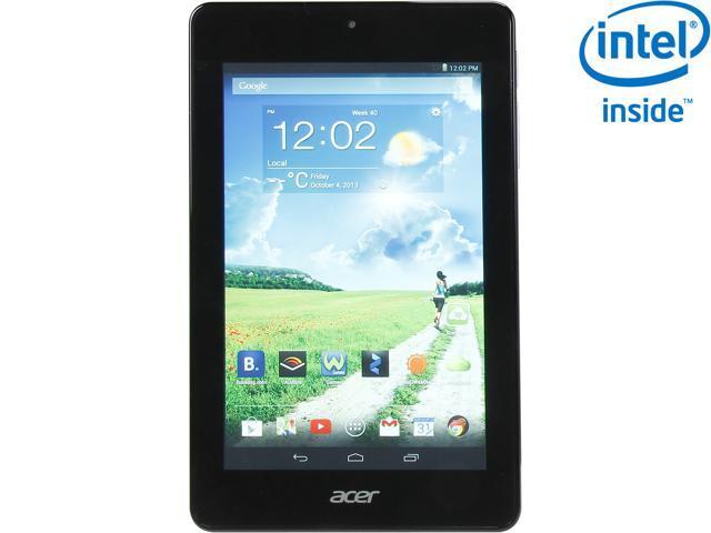 Acer Iconia One 7 B1-730HD-11S6 Intel Atom Z2560 1GB LPDDR2 Memory 8GB 7.0