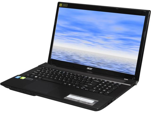Acer Aspire V3-772G-7448 Gaming Laptop Intel Core i7 4712MQ (2.30GHz) 8GB Memory 1TB HDD NVIDIA GeForce GT 750M 4GB GDDR3 17.3