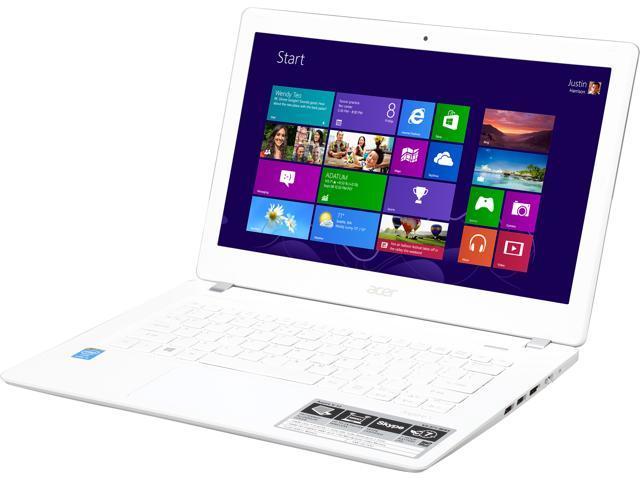 Acer Aspire V3-371-56R5 Notebook Intel Core i5 4210U (1.70GHz) 8GB Memory 1TB HDD Intel HD Graphics 4400 13.3