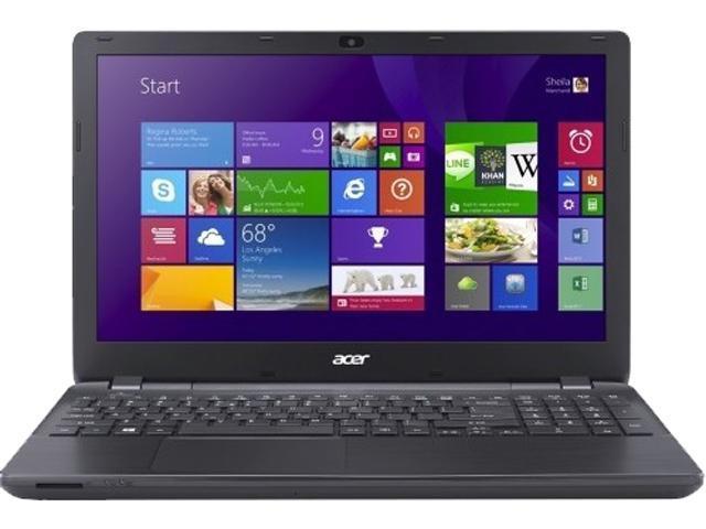 Acer Aspire E E5-571-38KJ Notebook Intel Core i3 4005U (1.7GHz) 4GB Memory 500GB HDD Intel HD Graphics 4400 15.6