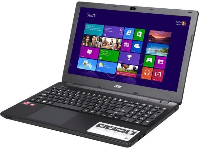 Acer E5-521-65B8 (NX.MLFAA.017) Notebook AMD A-Series A6-6310 (1.80GHz) 6GB Memory 1TB HDD AMD Radeon R4 Series 15.6