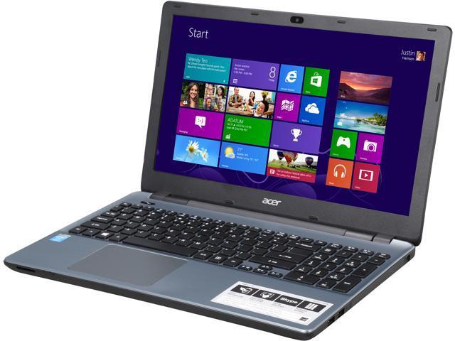 Acer E5-571-7776 (NX.MLTAA.018) Notebook Intel Core i7 4510U (2.00GHz) 8GB Memory 1TB HDD Intel HD Graphics 4400 15.6