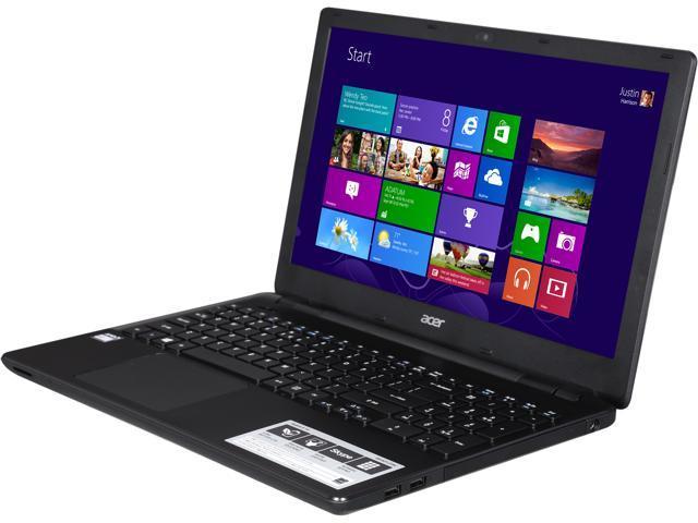Acer Aspire E5-521-219J Notebook AMD E2-Series E2-6110 (1.50GHz) 4GB Memory 500GB HDD AMD Radeon R2 Series 15.6