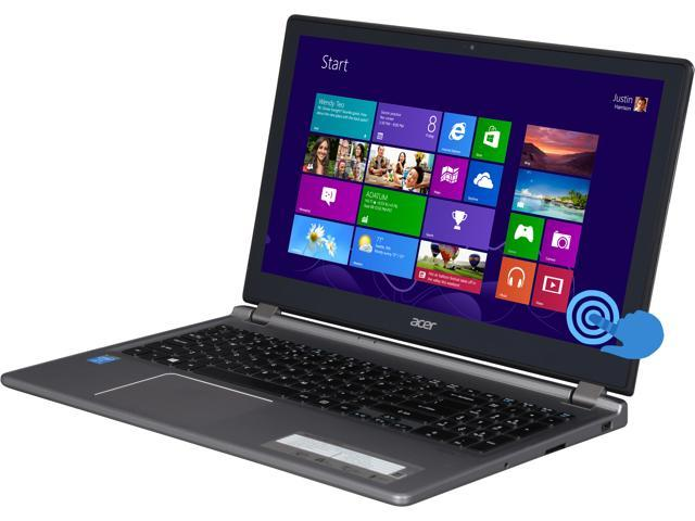 "Acer Aspire M5-583P-6423 15.6"" HD Touchscreen Notebook with Intel Core i5-4200U Processor, 6GB DDR3 Memory, 500GB HDD Storage"