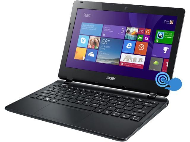 Acer TravelMate TMB115-MP-C23C Notebook Intel Celeron N2940 (1.83GHz) 4GB Memory 500GB HDD Intel HD Graphics 11.6