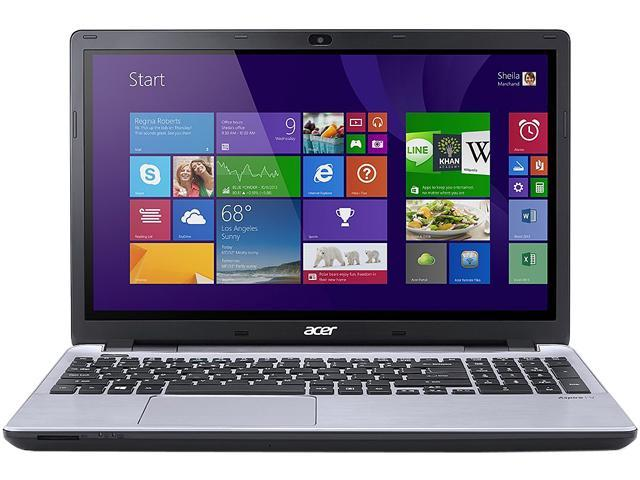 Acer Aspire V3-572PG-7915 NotebookIntel Core i7 5500U (2.40GHz) 8GB Memory 1TB HDD NVIDIA GeForce GT 840M 15.6