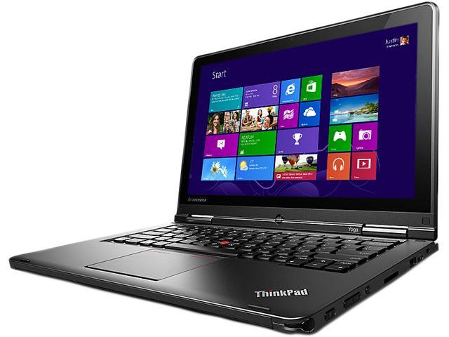 "Lenovo ThinkPad 20CD00BXUS Ultrabook/Tablet - 12.5"" - In-plane Switching (IPS) Technology - Intel Core i5 i5-4300U 1.90 GHz - Black"