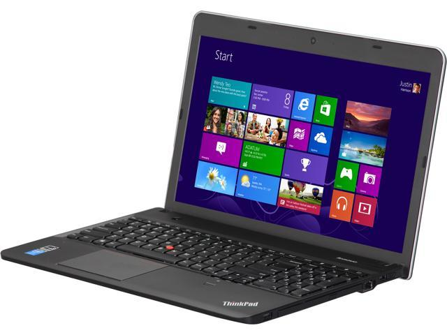 ThinkPad Edge E540 Notebook Intel Core i3 4000M (2.4GHz) 4GB Memory 500GB HDD Intel HD Graphics 4600 15.6