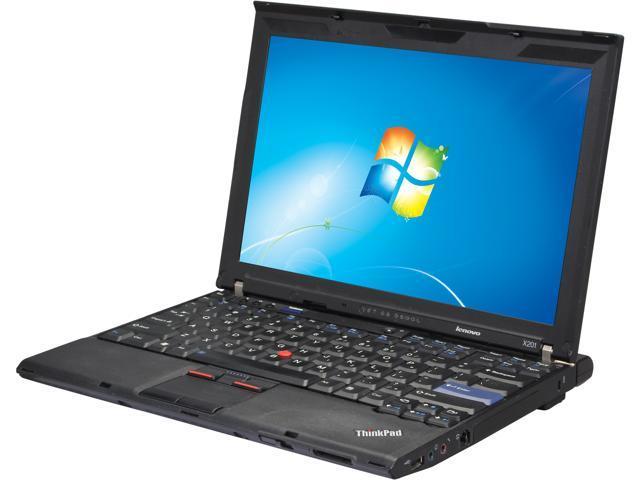 ThinkPad X Series X201 Notebook Intel Core i5 2.67GHz 4GB Memory 320GB HDD 12.1