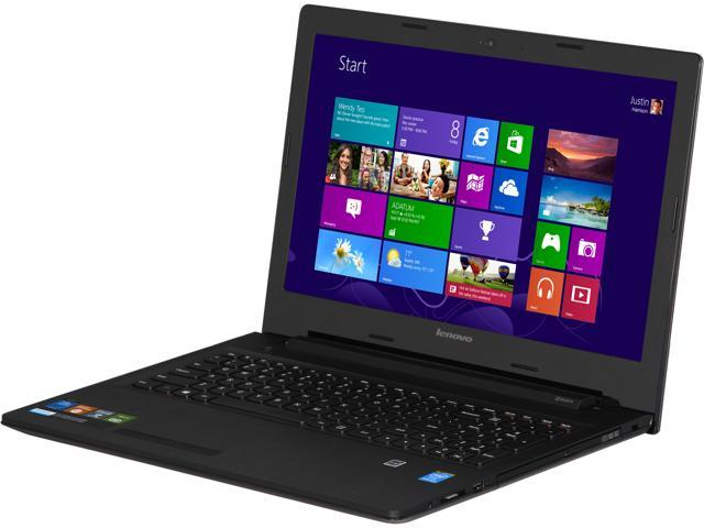 Lenovo G50 (80G0000VUS) Notebook Intel Pentium N3530 (2.16GHz) 4GB Memory 500GB HDD Intel HD Graphics 15.6