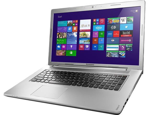 Lenovo Notebook Z710 (59421369) Intel Core i7 4710MQ (2.50GHz) 8GB Memory 1TB HDD NVIDIA GeForce GT 745M 17.3