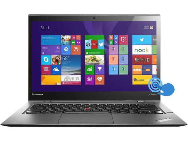 ThinkPad X1 Carbon Touch (20A7006RUS) Intel Core i7 4600U (2.10GHz) 8GB Memory 256GB SSD 14