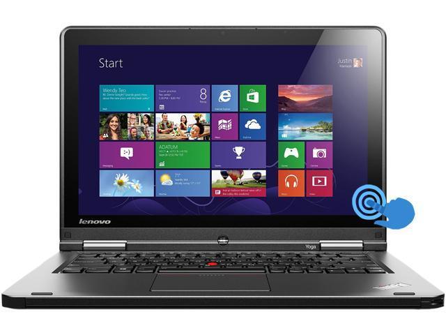 "ThinkPad Yoga 20CDS01H00 Intel Core i7 8 GB Memory 500 GB HDD 12.5"" Touchscreen Notebook Windows 8.1 64-Bit"