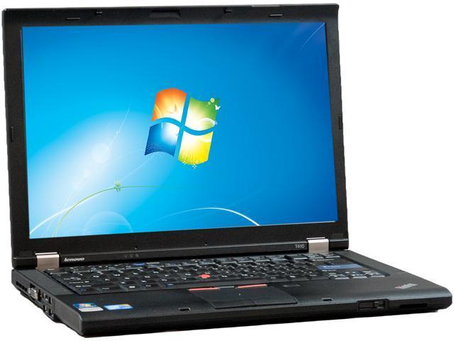 Lenovo T410 Notebook Intel Core i5 2.53GHz 4GB Memory 128GB SSD 14.1