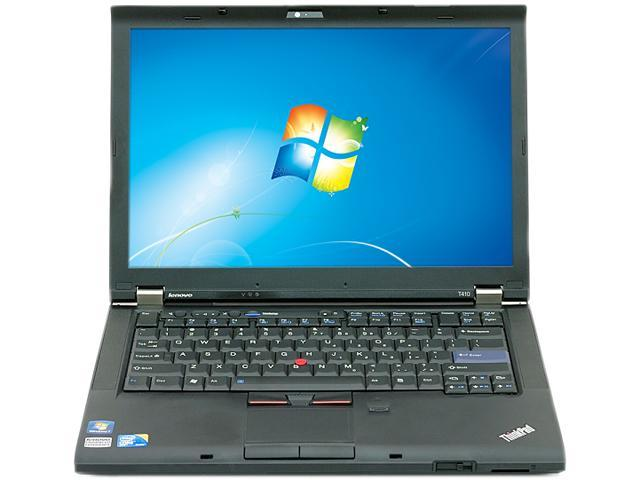 Lenovo T410-W7P NotebookIntel Core i5 2.40GHz 4GB Memory 160GB HDD 14.0