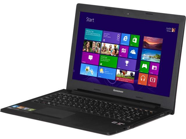 "Lenovo G505s 15.6"" Notebook with Quad Core AMD A10-5750M APU 2.50Ghz, 6GB DDR3 Memory, 1TB HDD, HD 720P Webcam, Bluetooth 4.0, HDMI Out, DVDRW ..."