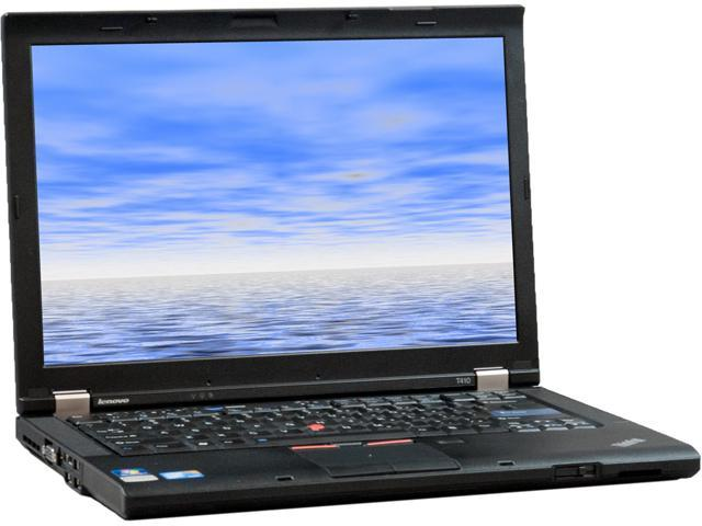 Lenovo T410 Notebook Intel Core i5 2.53GHz 4GB Memory 500GB HDD 14.1