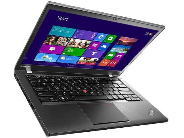 ThinkPad T Series T440 Notebook Intel Core i3 4030U (1.90GHz) 4GB Memory 500GB HDD Intel HD Graphics 4400 14.1
