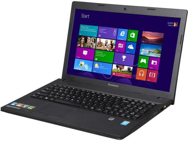 """Lenovo G510 15.6"""" Notebook with Intel Core i5-4200M 2.5Ghz (3.1Ghz Turbo), 6GB DDR3 RAM, 1TB HDD, 720p HD Webcam, HDMI Out, Dolby Advanced Audio, ..."""