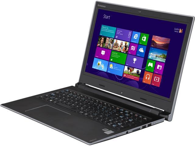 Lenovo Flex 15 Dual-Mode Notebook with Intel Core i5-4200U 1.6Ghz (2.6Ghz Turbo), 8GB DDR3L RAM, 500GB + 8GB SSHD, 720p HD Webcam, Dolby Advanced ...