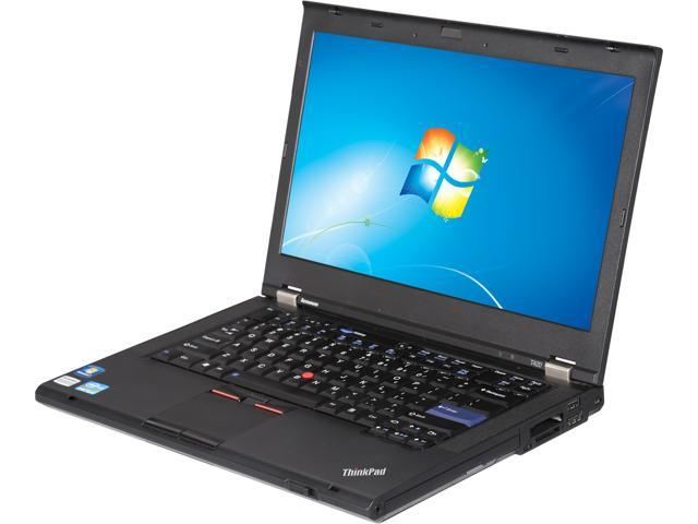 "Lenovo Thinkpad T420 14.1"" Notebook with Intel Core i5-2520M 2.50GHz (3.20Ghz Turbo), 4GB DDR3 RAM, 320GB HDD, DVDRW, Windows 7 Professional 64 Bit"