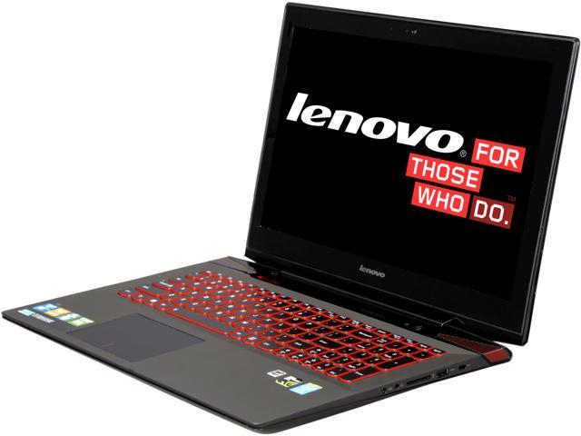 """Lenovo Y50 15.6"""" Gaming Notebook with Intel Core i7-4700HQ 2.4Ghz (3.4Ghz Turbo), 16GB DDR3, 1TB + 8GB SSHD, GeForce GTX-860M, 720P HD Webcam, ..."""