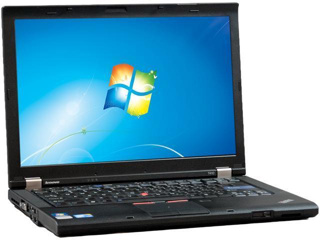 Lenovo T410 Notebook Intel Core i5 2.67GHz 4GB Memory 128GB SSD 14.1