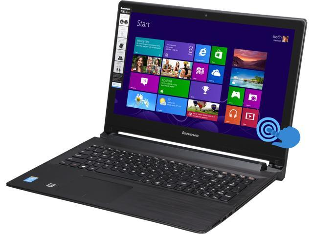 Lenovo Laptop Flex 2 15 Intel Core i3 4030U (1.90GHz) 4GB Memory 500GB HDD 8GB SSD Intel HD Graphics 4400 15.6