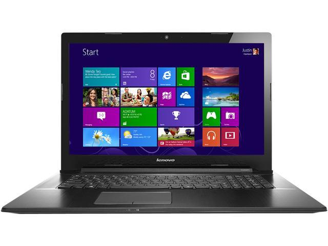 Lenovo Laptop G70 (80HW009JUS) Intel Core i3 4030U (1.90GHz) 4GB Memory 500GB HDD Intel HD Graphics 4400 17.3