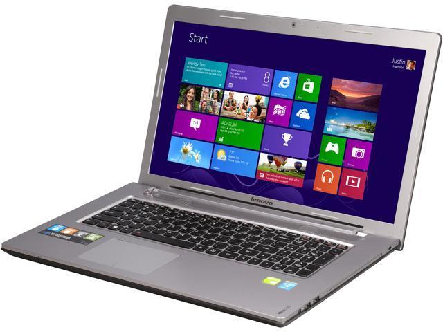 Lenovo Laptop Z710 (59421369) Intel Core i7 4710MQ (2.50GHz) 8GB Memory 1TB HDD NVIDIA GeForce GT 745M 17.3