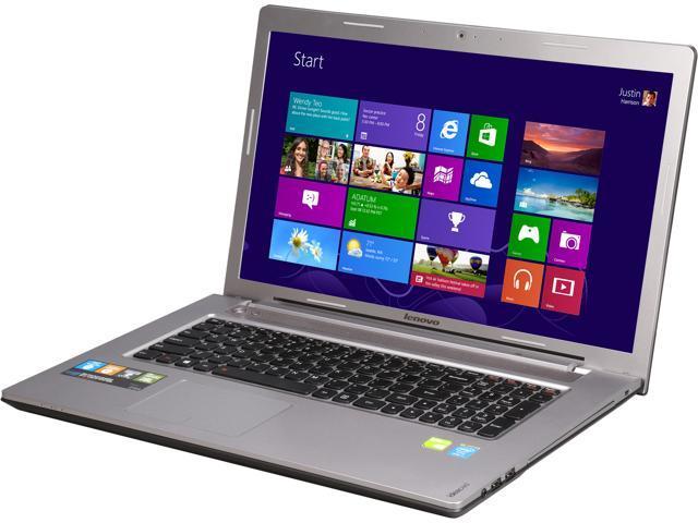 Lenovo Laptop Z710 (59421370) Intel Core i7 4710MQ (2.50GHz) 16GB Memory 1TB HDD 8GB SSD NVIDIA GeForce GT 745M 17.3