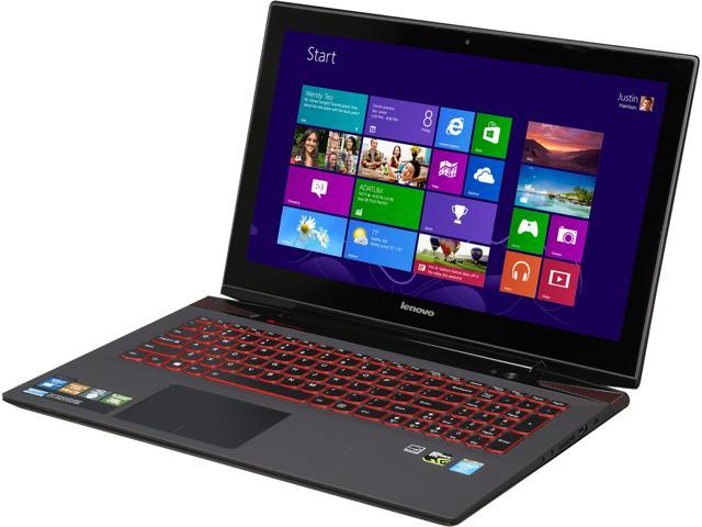 """Lenovo Laptop Y50 Touch 15.6"""" UHD 4K Touchscreen Gaming Notebook with Quad Core Intel Core i7-4700HQ 2.40GHz (3.40Ghz), 16GB Memory, 256GB SSD, ..."""
