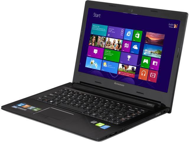 Lenovo Laptop Z40 (59425583) Intel Core i3 4030U (1.90GHz) 4GB Memory 500GB HDD 8GB SSD NVIDIA GeForce 820M 14.0