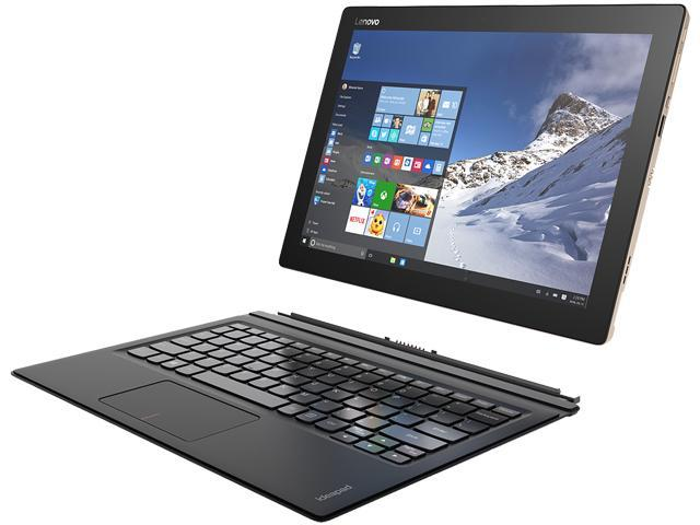 "Lenovo IdeaPad Miix 700 80QL000CUS Tablet Intel Core M7 6Y75 (1.20 GHz) 8 GB LPDDR3 Memory 256 GB SSD Intel HD Graphics 515 12.0"" IPS 2160 x 1440 Touchscreen 5 MP Webcam Windows 10 Pro 64-Bit"