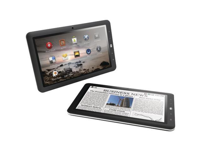 Coby Kyros MID8127-4G 8' 4 GB Tablet Computer - Wi-Fi - Telechips Cortex A8 1 GHz - Silver