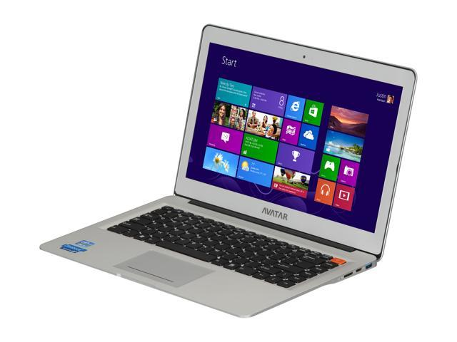 Avatar AVIU-145A2 Intel Core i5 3317U (1.70GHz) 8GB Memory 500GB HDD 32GB SSD 14