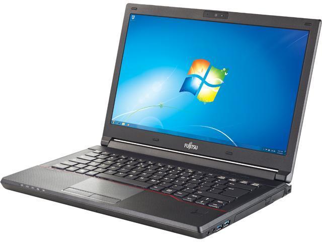 Fujitsu LifeBook SPFC-E544-001 Notebook Intel Core i5 4210M (2.6GHz) 4GB Memory 500GB HDD 8GB SSD Intel HD Graphics 4600 14.0