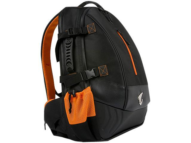 Aorus Black/Orange Ultimate Backpack for your Gaming Needs Model B7-CF1