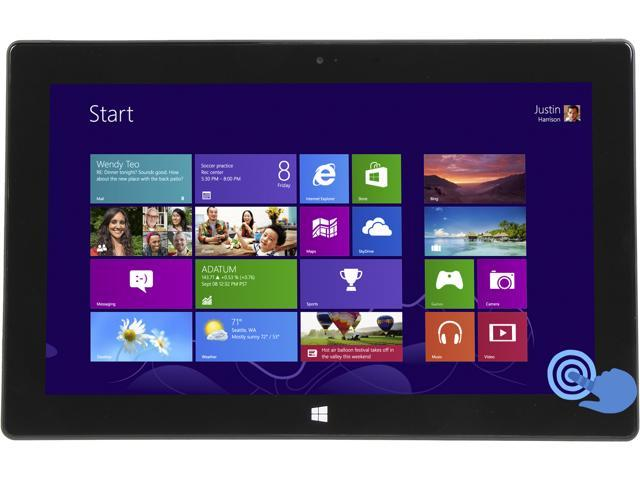 "Microsoft Surface Pro P6T-0002 Intel Core i5 4GB Memroy 128GB SSD, WIFI, 10.6"" HD Touchscreen Tablet, Windows 8 Pro. Full 1 Year Microsoft Warranty"