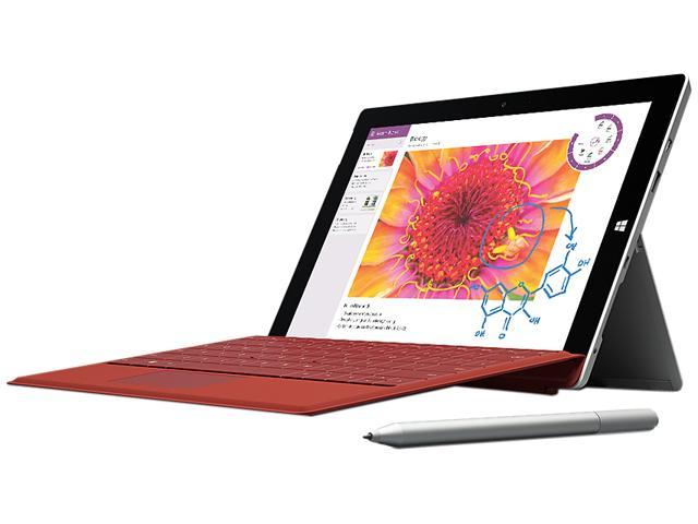 Microsoft Surface 3 Intel Atom CPU 4GB RAM 128GB Storage 10.8